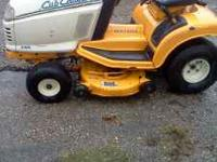 I have a Cub Cadet 2166 for sale for $500.00. This is