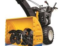The Cub Cadet 277 cc, OHV 4-Cyle Two-Stage 28 in. gas