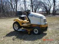 1999 CUB CADET 3185 HYDRO GARDEN TRACTOR 615 HOURS. 48""