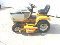 FOR SALE IS A NICE CUB RIDING TRACTOR 1641 WITH A