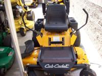 "CUB CADET Z FORCE HYDRO 50"" ZERO TURN MOWER WITH A 17HP"
