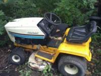 i have a cub cadet rideing mower that needs work it