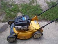 Self propelled 6 speed good running mower Serviced and