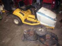 I am selling a 12.5 horse cub series 2000 tractor