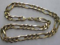 CUBAN LINK CHAIN MIAMI 10K 130G 36IN - QUARTER INCH