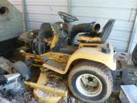 this mower was running when parked 4 years ago. It has
