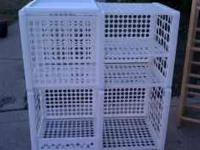 White storage cube call chad with questions at
