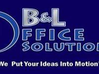 B&L Office Solutions was designed with our client's