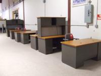 **WE NOW CARRY NEW AND PRE-OWNED OFFICE FURNITURE &