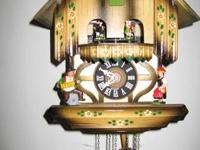 Cuckoo Clock, Black Forest House with Music and Dancing
