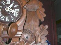 Over 15yrs' experience repairing cuckoo clocks, 400 day