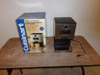 n/w hou. This 12 cup coffee machine is used it has no