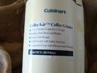 Have For Sale New Cuisinart Coffee Grinder Coffee Bar