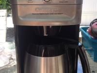 Automatic Burr Grind and Brew, slightly used 6 mos,