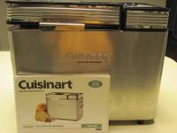 CUISINART CONVECTION BREAD MAKER FOR SALE! MUST SELL!