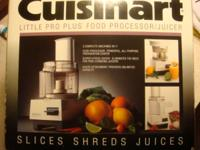Cuisinart Little pro Food Processor/ Juicer: Used