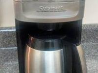 Cuisinart DGB-900BC Grind & Brew Thermal 12-Cup