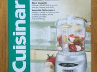Brand new Cuisinart Mini-Prep Plus Processor. Four-cup