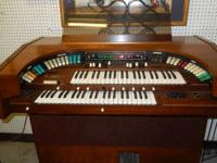 lovely wood Culbransen Theatrum Electric organ, works