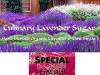 Culinary Organic Lavender Sugar, Order now, special