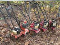 I have 5 cultivators. All need work. None run. $100 for