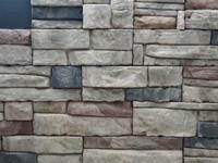 Cultured Stone for interior or exterior design .