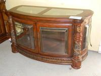 Featured Item Curio Base Cabinet -- Villa Valencia --
