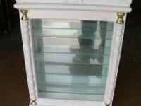 "Curio cabinet 12"" by 16"""