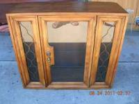 NICE CURIO CABINET $85.00 CALL  Location: MODESTO