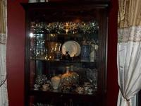 Curio Cabinet for sale, I am asking 1,225 Glass