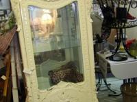 Gorgeous Hand Carved Curio Cabinet with such beautiful