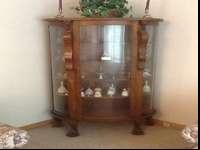Asking $850.00 OBO, curio cabinet, well preserved, nice
