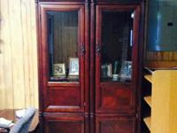 Very nice, Curio Type/Entertainment/China Cabinet. 2