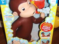 The below link is the Curious George commercial for