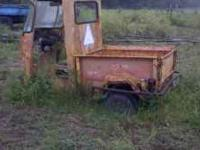 3-Wheel Cushman Truck Will send pics upon request Call