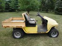 1998 cushman hawk utility vehicle---turf care and