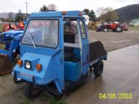 This Cushman runs well. I do have the doors for it.