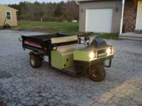 Cushman Turf Truckster in great shape! Starts right up