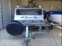 Custom 16 Ft Aluminum Airboat Blue Polymer LT4 Corvette
