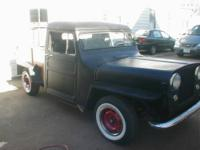 "1948 Willlys Jeep Pick-up top Chopped 3"" and Chanelled"