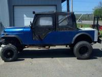 Up for sale $2000 or best offer is my 1967 cj5 that I