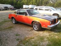 1979 Cutlass for sale. Has new paint, new chrome wheels