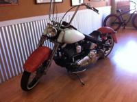 Custom Harley Davidson 2000 Fatboy Lots of extras