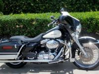 2005 HARLEY ELECTRA GLIDE CLASSIC PEACE OFFICER