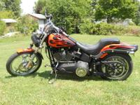 Custom 2009 Harley Davison Night Train Softail Clean