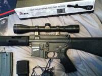Custom Built Airsoft DMR Shooting Around 400+ FPS Will