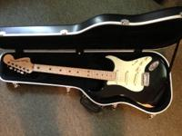 Custom-made Fender Strat with thin-coated