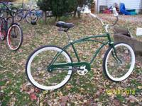 Greetings, I am marketing a custom beach cruiser. The