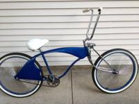 I am offering my customized bike. It has 26 inch tires,