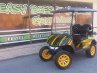 Just Finished! 2012 EZGO RXV with New Trojan